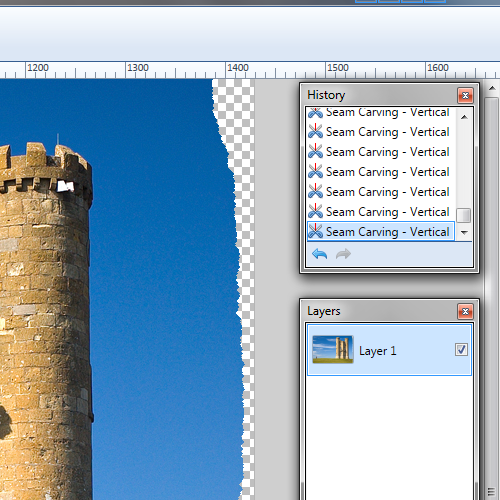 how to fix jagged edges in paint 2